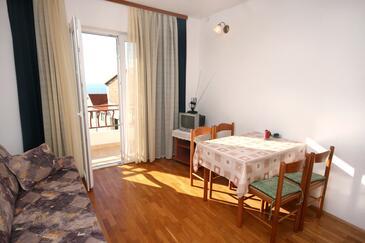 Drašnice, Jadalnia w zakwaterowaniu typu apartment, dopusteni kucni ljubimci i WIFI.