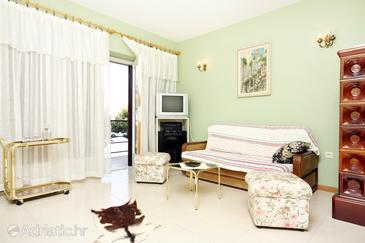 Nemira, Living room in the apartment.