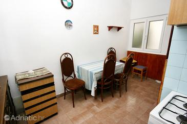 Drašnice, Dining room in the apartment, (pet friendly).