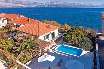 Postira, Brač, Property 6054 - Vacation Rentals near sea with pebble beach.