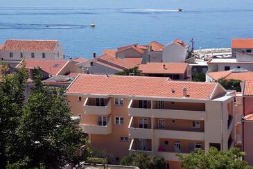 Tučepi, Makarska, Obiekt 6058 - Kwatery przy morzu ze żwirową plażą.