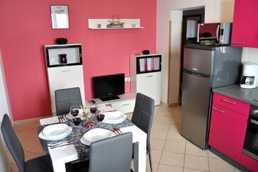 Okrug Gornji, Столовая в размещении типа apartment, WiFi.