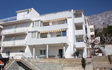 Nemira, Omiš, Obiekt 6070 - Apartamenty ze żwirową plażą.
