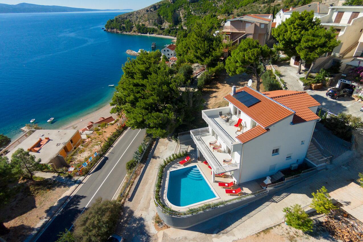Chorvatsko luxusní vila bazén