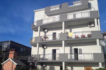 Podstrana, Split, Objekt 6072 - Ubytovanie s kamienkovou plážou.