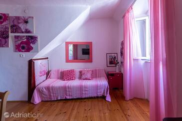 Supetar, Obývací pokoj v ubytování typu apartment, WiFi.