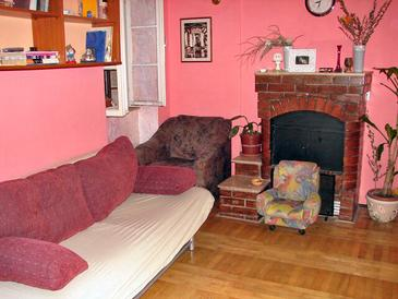 Split, Living room in the apartment, dostupna klima i WIFI.