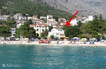 Baška Voda, Makarska, Объект 6081 - Апартаменты вблизи моря с галечным пляжем.