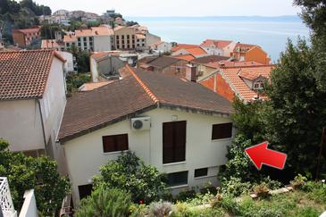 Podgora, Makarska, Property 6082 - Apartments near sea with pebble beach.