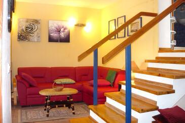 Oštrička luka, Obývací pokoj 1 v ubytování typu apartment, WiFi.