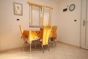 Umag, Jídelna v ubytování typu apartment, WIFI.