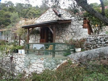 Babine Kuće, Mljet, Property 610 - Apartments near sea with rocky beach.