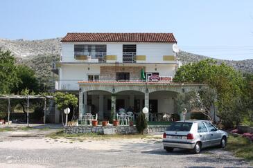 Grebaštica, Šibenik, Объект 6103 - Апартаменты с галечным пляжем.