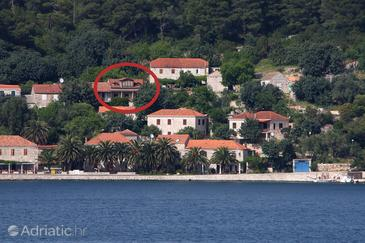 Babine Kuće, Mljet, Property 611 - Apartments near sea with rocky beach.