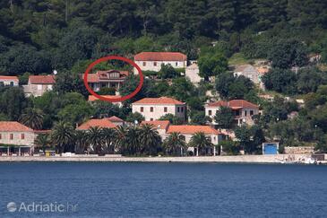 Babine Kuće, Mljet, Property 611 - Apartments near sea with rocky beach.