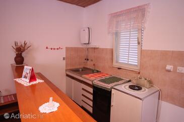 Sukošan, Kitchen in the studio-apartment, dopusteni kucni ljubimci i WIFI.