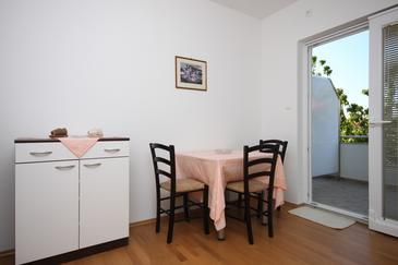 Sukošan, Jadalnia w zakwaterowaniu typu apartment, WIFI.