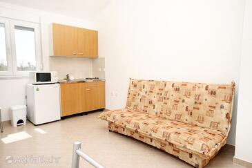 Zukve, Living room in the apartment.