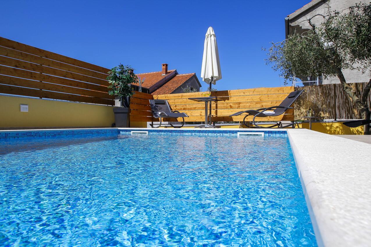 Ferienwohnung im Ort Zadar (Zadar), Kapazität Ferienwohnung in Kroatien