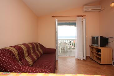 Sveti Petar, Camera de zi în unitate de cazare tip apartment, aer condiționat disponibil şi WiFi.