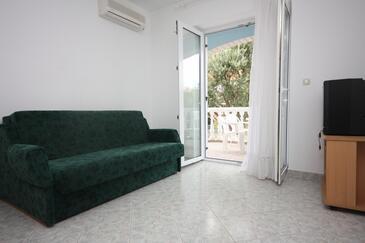 Sveti Petar, Pokój dzienny w zakwaterowaniu typu apartment, dostupna klima i WIFI.