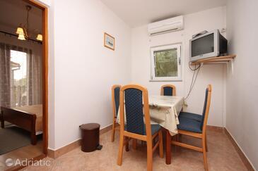 Bibinje, Столовая в размещении типа apartment, доступный кондиционер и WiFi.