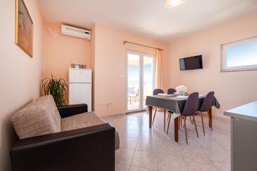 Posedarje, Столовая в размещении типа apartment, доступный кондиционер и WiFi.
