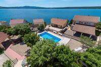 Apartmány u moře s bazénem Posedarje (Novigrad) - 6162