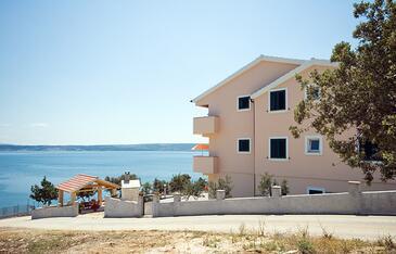 Posedarje, Novigrad, Объект 6162 - Апартаменты вблизи моря с галечным пляжем.