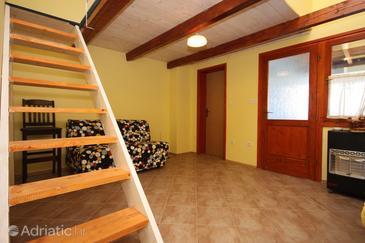 Sukošan, Living room in the apartment.
