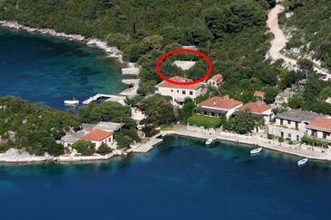Prožurska Luka, Mljet, Objekt 617 - Ubytování v blízkosti moře.