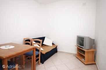 Sveti Petar, Obývací pokoj v ubytování typu apartment, WiFi.