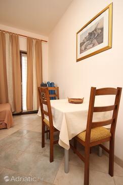 Sukošan, Dining room in the apartment, dopusteni kucni ljubimci i WIFI.