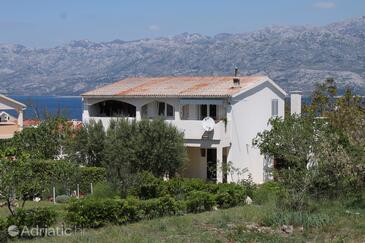 Ražanac, Zadar, Property 6185 - Apartments with pebble beach.