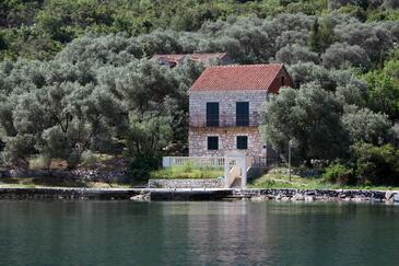 Prožurska Luka, Mljet, Objekt 619 - Ubytovanie blízko mora.