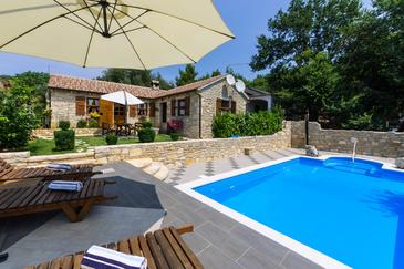 Posedarje, Novigrad, Property 6193 - Vacation Rentals near sea with pebble beach.