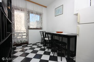 Bibinje, Jídelna v ubytování typu apartment, WiFi.