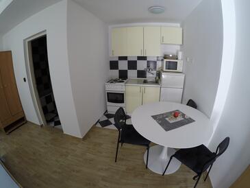 Bibinje, Кухня в размещении типа studio-apartment, WiFi.
