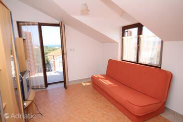 Tribunj, Гостиная в размещении типа apartment, Домашние животные допускаются и WiFi.