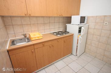 Biograd na Moru, Kitchen in the apartment, WiFi.