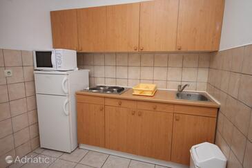 Biograd na Moru, Kuchyně v ubytování typu apartment, WiFi.