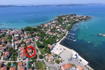 Sukošan, Zadar, Objekt 6229 - Apartmaji v bližini morja s prodnato plažo.