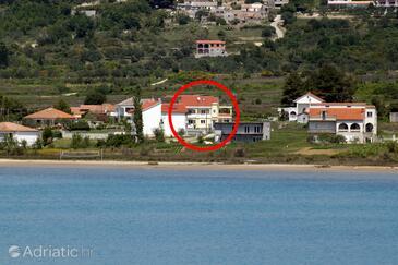Ljubač, Zadar, Объект 6244 - Апартаменты с песчаным пляжем.
