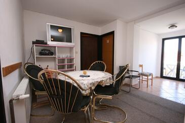 Biograd na Moru, Pokój dzienny w zakwaterowaniu typu apartment, WIFI.
