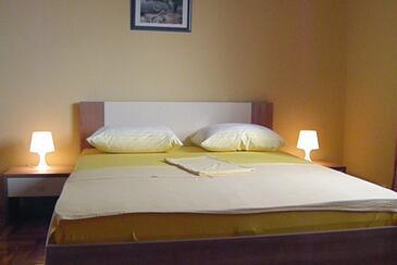 Vodice, Спальня в размещении типа room, доступный кондиционер и WiFi.