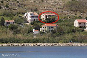 Pag, Pag, Property 6272 - Apartments near sea with pebble beach.