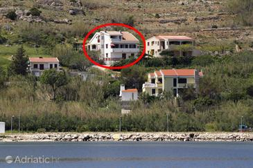 Pag, Pag, Property 6273 - Apartments near sea with pebble beach.