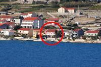 Pokoje u moře Kustići (Pag) - 6288