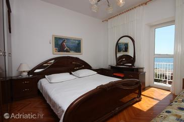 Kustići, Ložnice v ubytování typu room, s klimatizací a WiFi.