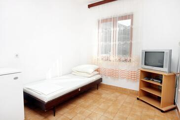 Metajna, Pokój dzienny w zakwaterowaniu typu apartment, WIFI.